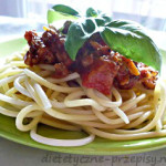 Dietetyczne spaghetti bolognese kalorie 300