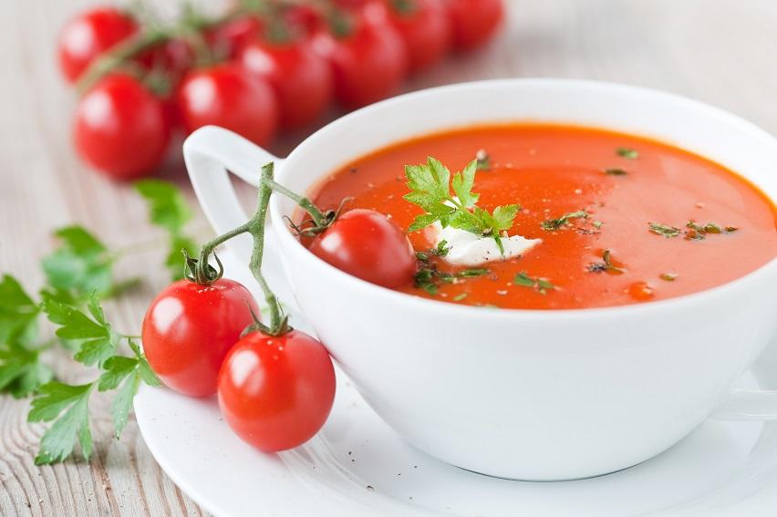 zupa pomidorowa � mniej niż 100 kcal � dietetyczne