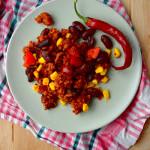Dietetyczne chili con carne 300 kcal