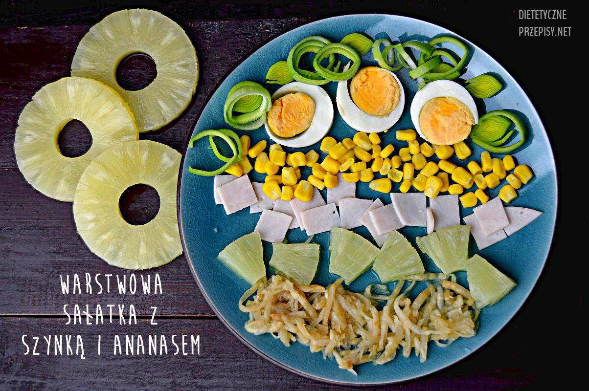salatka-z-szynka-i-ananasem-w-wersji-dietetycznej