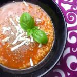 dietetyczna zupa pomidorowa ze świeżych pomidorów