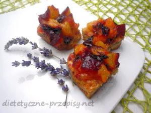 dietetyczne ciasto cynamonowe ze sliwkami