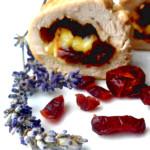 rolady z kurczaka z serem camembert i żurawiną