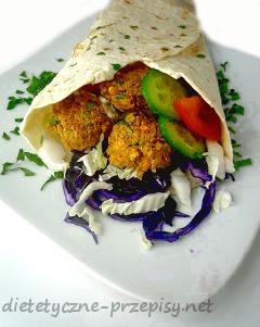 dietetyczny kebab wegetariański