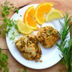Ziołowo cytrusowy kurczak z grilla