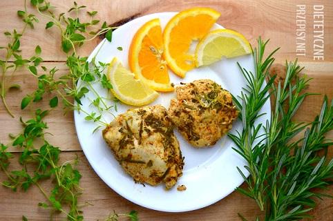 cytrusowo ziołowy kurczak z grilla