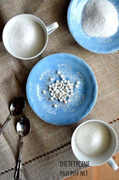 stewia ksylitol a zwykły cukier test słodkości