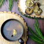 Prosta zupa grzybowa z suszonych grzybów na wigilię