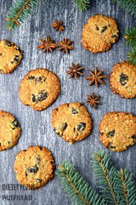 świąteczne ciasteczka owsiane szybkie pyszne i zdrowe