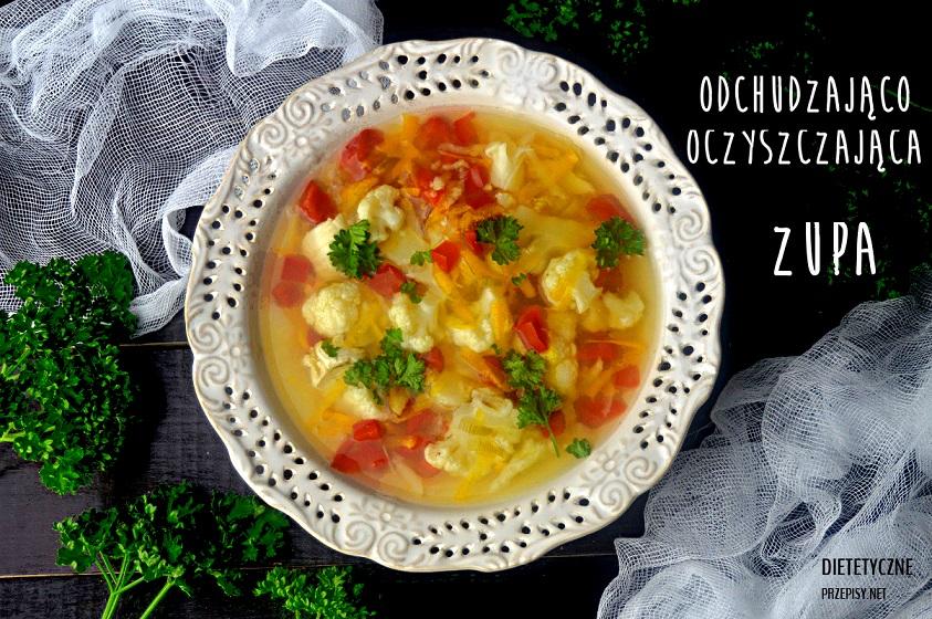 zupa odchudzająco oczyszczająca