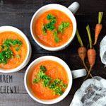 Aromatycznie doprawiona zupa krem z marchewki – bogactwo witamin