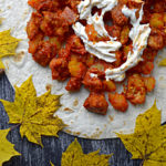 Fit tortilla z kurczakiem i dynią – zaskakujące połączenie smaków