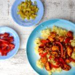 Super szybka kasza jaglana z kurczakiem – danie jednogarnkowe