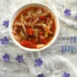 Dietetyczna zupa kapuściana – moja pyszna wersja