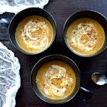Szybka zupa krem z kurek fit