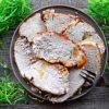 Kruchy schab pieczony w folii – idealny na domową wędlinę fit
